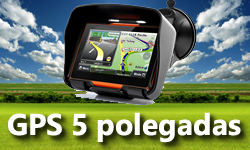 GPS de 5 Polegadas