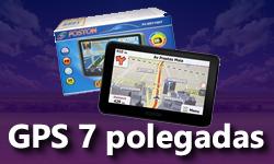 GPS de 7 Polegadas